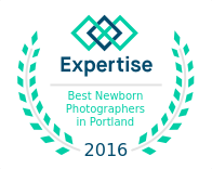Expertise award | Portland's Best Newborn Photographers